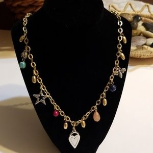 NWT Chico Trinklet Long Necklace